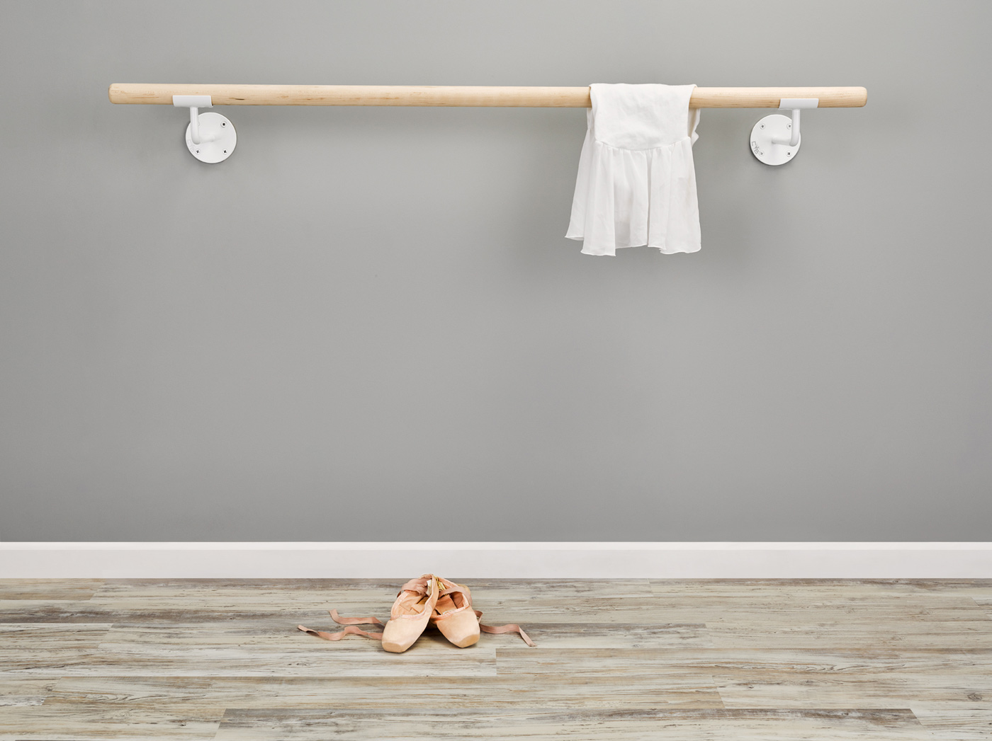 Custom Barres Floor Mounted Ballet Barre