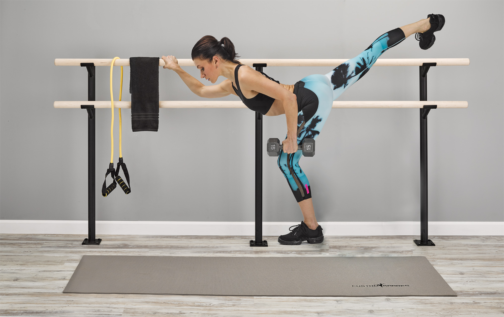 Custom Barres Wall Mounted Ballet Barre